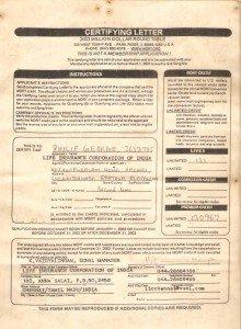 Philip George - LIC Agent - MDRT Certificate